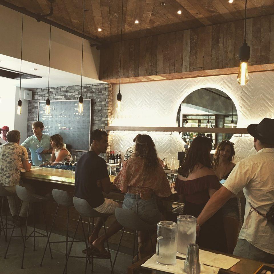 satellite wine bar interior design